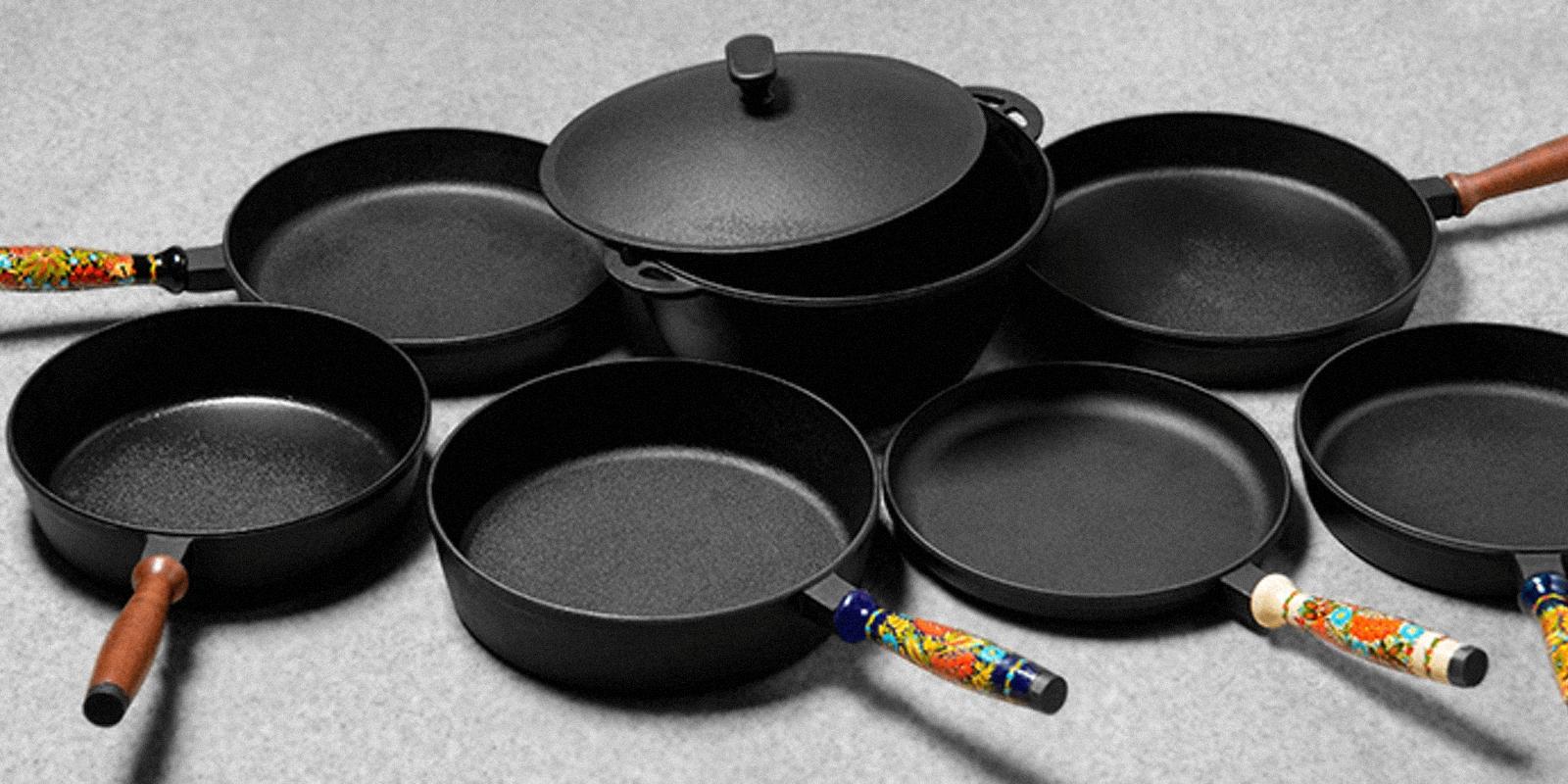 Чугунная посуда для приготовления пищи